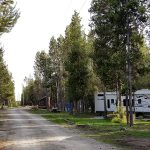 Yellowstone RV Park at Mack's Inn road thru the pines