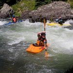 Kayaking Coffee Pot Rapids